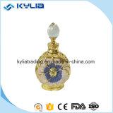 12ml 15mlの金金属の水晶香水瓶Mpb-16