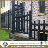 Diseños de la puerta de la casa de los colores de la buena calidad y cerca del hierro labrado