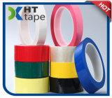 Bande colorée de polyester d'isolation adhésive à simple face