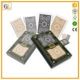 Подгонянные карточки выдвиженческого бумажного покера играя