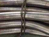 Pot d'échappement flexible d'acier inoxydable