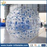 熱いゲームのスポーツのフットボール膨脹可能なボディZorbの球、販売のためのサッカーのZorbの球