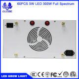LED 플랜트는 백색 완료 LED가 가볍게 증가하는 Hydroponic 300W, 식물 성장을%s LED 빛을 증가하는 300W를 위해 가볍게 증가한다