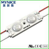 Waterproof DC12V 1W Injection LED Module Light para placa de placa