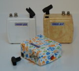 HS08AC-Skcのエアブラシの圧縮機キットの携帯用スプレーは釘の入れ墨を飾るケーキを補う