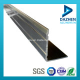 Perfil de aluminio de grado 6063 para el azulejo Recorte con diferentes colores