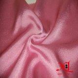 Tela de seda Chiffon pura llana para la alineada