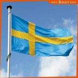 Su ordinazione impermeabilizzare e modello no. della bandiera nazionale della Svezia della bandiera nazionale di Sunproof: NF-009
