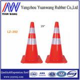 Conos portables de la seguridad en carretera del cono del tráfico del PVC 900m m