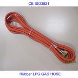 Boyau en caoutchouc de l'identification 6mm 8mm d'OIN 3821 pour le gaz naturel de LPG de propane
