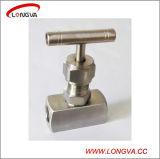 Valvola ad ago sanitaria di alta pressione dell'acciaio inossidabile