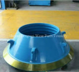 Fodera resistente all'uso della ciotola delle parti della fonderia