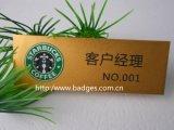유명한 접어젖힌 옷깃 Pin 의 주문 조직적인 기장 (GZHY-LP-028)