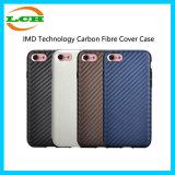 Cas de couverture de fibre de carbone de technologie d'IMD