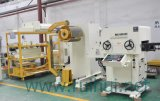 NC 자동 귀환 제어 장치 지류를 가진 직선기 및 제조 공업 공급 장비에 있는 Uncoiler 사용