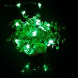 7FTの長い銀で電池式クリスマスツリーのBlingマイクロLED 20のライト18時間の6時間