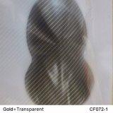 Fibra de Carbono Kingtop 1m de Impresión Hidrográfica de Transferencia de Agua de Transferencia de Película para Hydro Dipping con PVA Material Wdf072