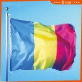 Su ordinazione impermeabilizzare e modello no. della bandiera nazionale della Romania della bandiera nazionale di Sunproof: NF-059