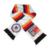 方法は縞で飾った様式によって編まれたスカーフ(JRI009)を