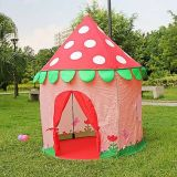 Сад игры хлопает вверх шатер Princess Малыша Teepee Театра Tipi
