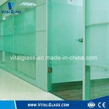 ホウケイ酸塩ガラス和らげられた曲がった塀のまたは安全によって薄板にされる構築ガラス