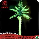 Indicatore luminoso viola esterno dell'albero di Natale della palma di noce di cocco del PVC LED di Artiticial