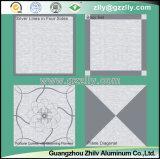 Алюминиевым потолок ый металлом замороженный для украшения