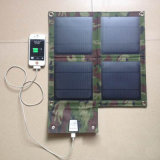 Высокая эффективность складывая заряжатель панели солнечных батарей 10W 2A для PC таблетки телефона