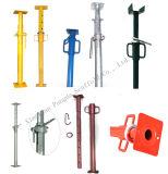 Apuntalamientos ajustables del poste/apoyo de acero para el encofrado