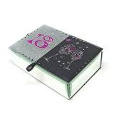 Dekorative fantastische Schmucksachen kosmetischer Glassr Geschenk-Verpackungs-Kasten Hx-6594