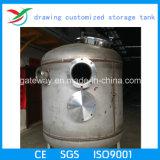Бак для хранения вертикали нержавеющей стали