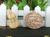 カスタム亜鉛合金の青銅によってめっきされるスポーツの水泳メダル