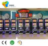 タッチ画面が付いているカジノのアーケードの傾斜のトップスロットのキャビネットのゲーム表機械
