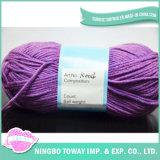Fournisseurs Nouveauté Yarn prix Cotton Knitting Scarf Textile Yarn