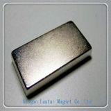 Grande magnete del blocchetto di formato con la placcatura del Ni
