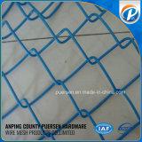 Cerca galvanizada revestida PVC 50*50mm da ligação Chain