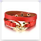 De Armband van het Leer van de Juwelen van het Leer van de Juwelen van de manier (LB465)