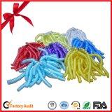 Nuevos arqueamientos de calidad superior de la cinta de la Navidad que se encrespan colorida que vienen