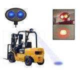 Luz recarregável do trabalho do diodo emissor de luz da luz de advertência 10W do Forklift do ponto azul