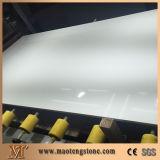Белый проектированный сляб камня кварца для Tabletops, Countertops и плакирования стены