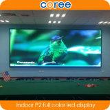 Alta visualización de LED a todo color de interior de la definición SMD P2