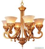 Bl-405 de Verlichting van het Hotel van de Lamp van de Kroonluchter van de Schaduw van het glas