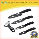 """3-6 """"インチはセットされた台所用品のための陶磁器のナイフセットを印刷した(RYST0107C)"""