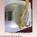 Beaux crochets de chat en alliage de zinc de cintre de double de modèle (ZH-2000)