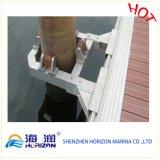 Guide de piles en acier / aluminium haute qualité pour quai flottant