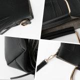 공상 형식 여자 Hangbag 술 어깨에 매는 가방 가죽 가방 고정되는 금속 핸드백