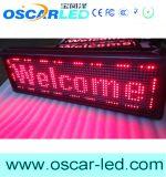 Module de P10 rouge/bleu/vert/blanc/rose de DEL de signe/signe programmable défilement populaire DEL