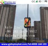 P4 visualización de alta resolución al aire libre del tráfico del vídeo LED