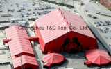 Превосходная конструированная комбинация шатра венчания партии PVC шатёр высокого пика