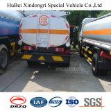 camion del serbatoio di combustibile dell'olio della benzina della benzina dell'euro 3 di 5cbm JAC con il motore diesel